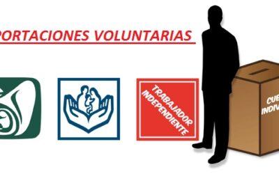 ¿Qué son las Aportaciones Voluntarias?