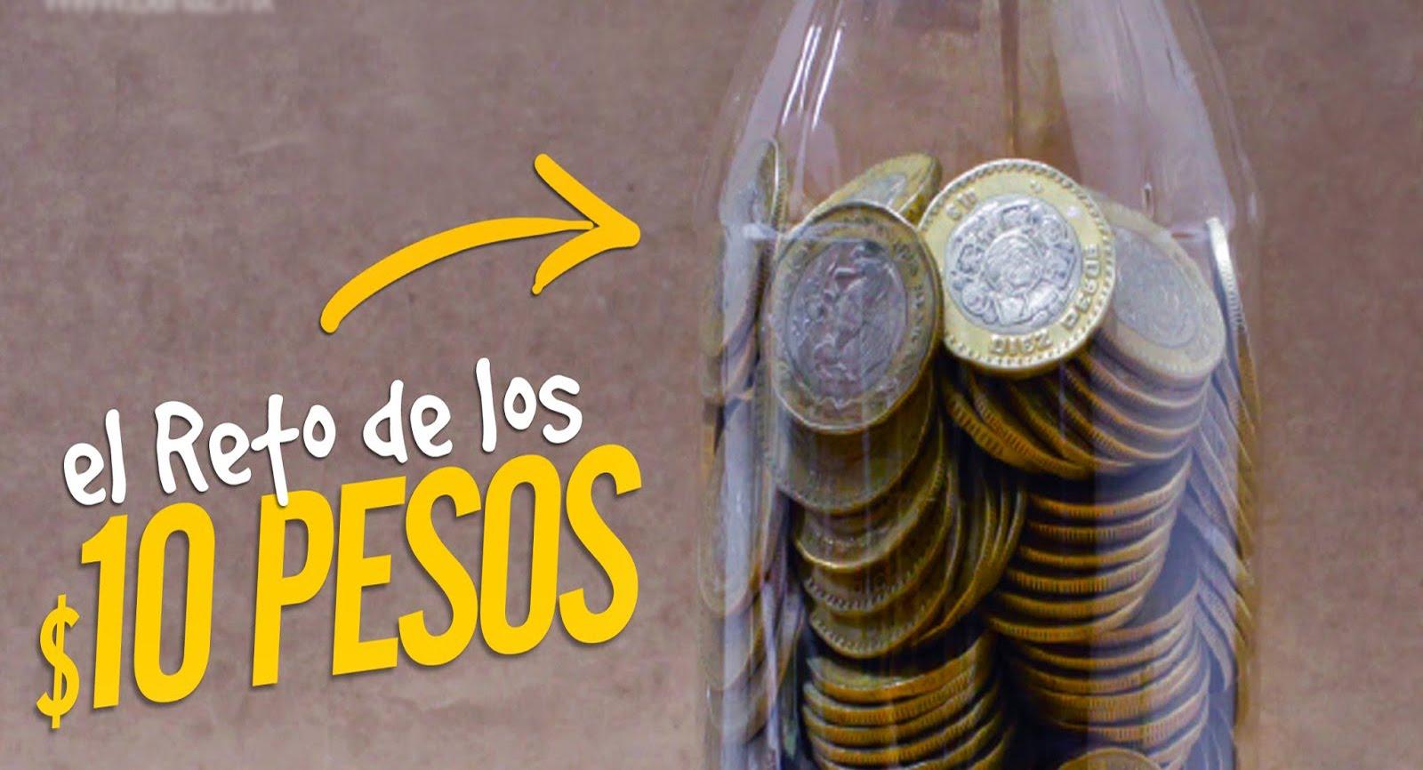 reto de los 10 pesos